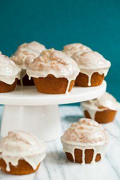 Gingerbread Doughnut Muffins FoodBlogs.com