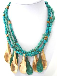 ROBERT LEE MORRIS STUNNING MULTI SHAPED GENUINE TURQUOISES DESIGNER NECKLACE http://www.ebay.com/itm/ROBERT-LEE-MORRIS-STUNNING-MULTI-SHAPED-GENUINE-TURQUOISES-DESIGNER-NECKLACE-/311459983221?ssPageName=STRK:MESE:IT