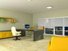 Consejos para diseñar oficinas con ergonomía adecuada Corner Desk, 3d, Furniture, Home Decor, Labor Positions, Contemporary Architecture, Offices, House Decorations, Tips