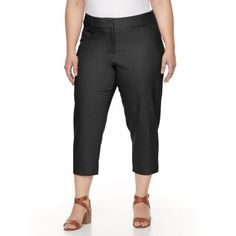 Plus Size Apt. 9® Torie Capri Dress Pants