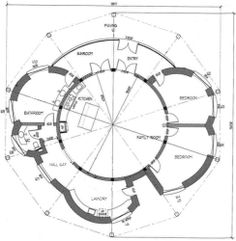 Circular House Floor Plans | Round House Plans, Round Home Plans, Round House Floor Plans