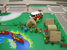 BrickScouts Campground by Tedward, via Flickr