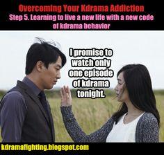 Overcoming Your Kdrama Addiction Step 5 #kdramafighting