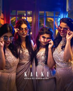 #Episode5 #RealBridesmaidsofKalki Are you not blessed with the best girlfriends in the world? Well, one of our #KALKIBrides has been fixed, and we planned on this one big 'Bride & Bestie' photoshoot for her and her #squad before she bids goodbye to singlehood.Also we got you a list of all sorts of 'must-have' picture ideas - from the cheesy ones to the most boujee ones. Sister Photography, Episode 5, Besties, Girlfriends, You Got This, Sisters, Romance, Photoshoot, Romantic