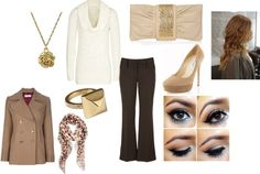 """""""work outfit for winter/fall"""" by ashley-catterton on Polyvore"""