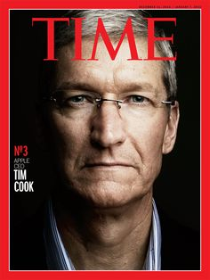 Tim Cook, Apple CEO, Time Magazine Cover