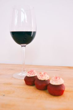 Red Velvet Batter Co. Cupcakes and Cabernet