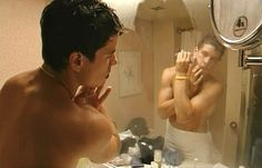 Sidney Crosby after a steamy shower. This isn't relevant to hockey. But who cares? ;)