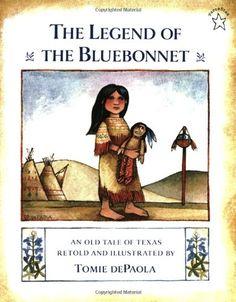 The Legend of the Bluebonnet by Tomie dePaola,http://www.amazon.com/dp/0698113594/ref=cm_sw_r_pi_dp_q1hssb0NP4NNKZK3