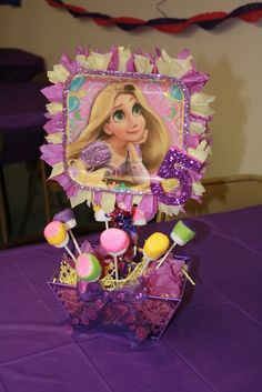How cute, they used the dessert plate to create the centerpiece. Photo 16 of rapunzel, tangled / Birthday Rapunzel Birthday Party, Disney Princess Birthday, Girl Birthday, Party Centerpieces, Birthday Party Decorations, Birthday Parties, Tangled Party Decorations, Birthday Ideas, Party Ideas