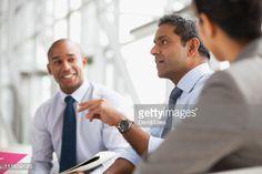 Stock Photo : Businessmen in meeting