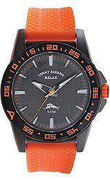Tommy Bahama Relax Collection Black Dial Men's Watch #RLX1163 Tommy Bahama. $53.00. Orange Polyurethane Band. Mens watch. Yellow Dial. Rotating bezel. Save 58% Off!