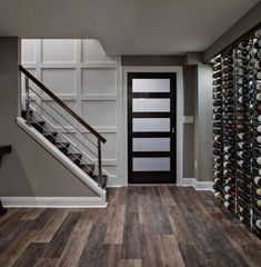 Want to remodel your basement but don't know where to start? Get basement ideas with impressive remodeling before-and-afters from inboundmarketingsummit to get inspired. Small Basement Remodel, Basement Renovations, Home Renovation, Home Remodeling, Basement Kitchenette, Small Basement Bars, Small Basement Design, Kitchen Remodel, Finished Basement Designs