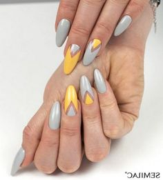 Today i'll show some French Manicure Nail Designs for you ! A French manicure is a chic, polished, and timeless look. What's a French Manicure Nail Design ? Beautybigbang offer French Manicure Nail Designs for 2018 ! French Manicure Nail Designs, Nail Manicure, Nail Polish, Yellow Nails Design, Yellow Nail Art, Trendy Nail Art, Nail Art Diy, Short Nail Designs, Nail Art Designs