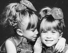 I used to lalaloooove the Olsen Twins!!! I watched their movies growing up!