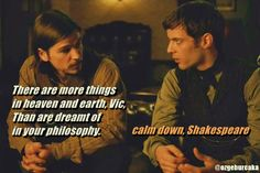Penny Dreadful Ethan Chandler and Victor Frankenstein