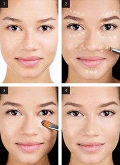 How to flawlessly cover acne, dark spots and flaws with concealer