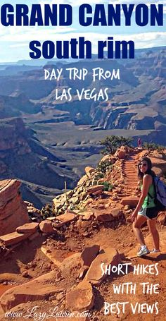 Day Trip from Las Vegas to Grand Canyon South Rim (plus Hoover Dam! Vegas To Grand Canyon, Grand Canyon Tours, Grand Canyon South Rim, Grand Canyon National Park, Budget Travel, Travel Tips, Travel Guides, Travel Photography, Night Photography