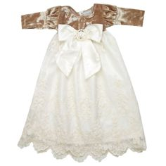 Bebe Mwah - Haute Baby Infant Girl Sleeping Gown (Juliette), $56.00 (http://www.bebemwah.com/haute-baby-infant-girl-sleeping-gown-juliette/)