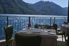 Pranzo al Belvedere a ridosso del lago