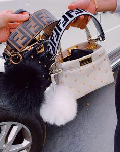 🦋🦋 Kylie Jenner and Chiara Ferragni's favorite Fendi stroller Luxury Purses, Luxury Bags, Luxury Handbags, Fashion Handbags, Fashion Bags, Fashion Fashion, Fashion Women, Celebrities Fashion, Fashion Clothes