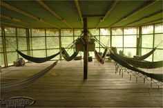 Tahuayo Lodge's hammock room, Amazon jungle, Peru. This is the place I think about when I want to remember what perfect peace is like.