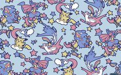 Anime Pokemon  Pikachu Krabby (Pokemon) Latias (Pokemon) Latios (Pokemon) Lucario (Pokémon) Munchlax (Pokémon) Swablu (Pokémon) Wallpaper