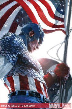 Captain America Seige #3