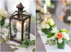 Meg and Steve planned the most perfect laid back, outdoor wedding at the McKeldin Area of Patapsco Valley State Park. They picked out a pavilion and had the ceiling decorated with lights and draped with white fabric. Their colors of light peach and sage green looked perfect against the colors of the…