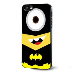 Despicable Me Batman Minion Samsung Galaxy S3 S4 S5 Case Samsung Galaxy Note 3 Case iPhone 4 4S 5 5S 5C Case Ipod Touch 4 5 Case