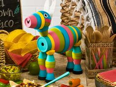 Fiesta Donkey Create a Garden Party with Clay Pot Critters & Handmade Charlotte Stencils!