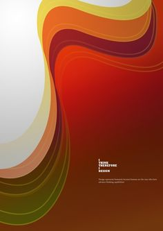"""I Think, Therefore I Design"" Poster"