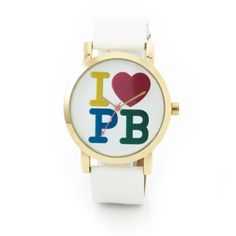 Paul's Boutique White band Watch: sporty