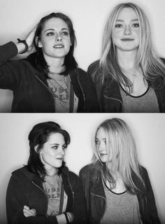 Kristen Stewart and Dakota Fanning.......yep they are Friends