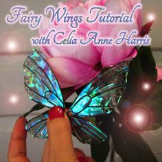 Hey, I found this really awesome Etsy listing at https://www.etsy.com/listing/122318155/iridescent-fairy-butterfly-wing-tutorial