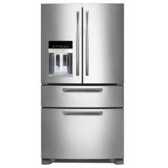 Maytag 5 MFX 257 AA 4 Kapılı Buzdolabı, Su Pınarlı