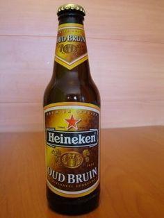 Cerveja Heineken Oud Bruin, estilo Dark American Lager, produzida por , Holanda. 2.5% ABV de álcool.