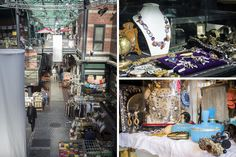 At a Paris Flea Market, Tips for Treasure Hunters ~ a rundown of some of affordable favorites (or at least where good value can be found).The perfect scarf, paintings, old kitchenware, old paper, costume jewelry, and old postcards and photographs. #Paris #Flea_Markets #Shopping