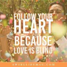 Follow your heart, because love is blind. #theswirl #mixedlove Interracial Love Quotes, Interracial Dating Sites, Interracial Couples, Dating Black Women, Follow Your Heart, Romantic Love Quotes, Beautiful Images, Black Men, Best Friends