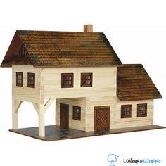 Walachia - Costruzioni in legno - N. 13 LA TAVERNA - Hobby Kits | lalberoazzurro.net