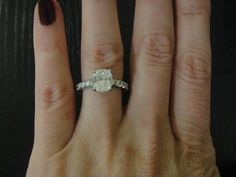 band is a little thick for me but beautiful ring