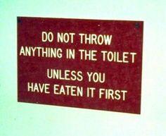 Bathroom Signs History wait what??? (photo takenjulia louis-dreyfus) | funny