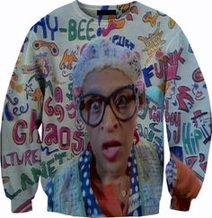 The Fresh Prince of Bel - Air Sweater Crewneck Sweatshirt Prince Of Bel Air, Fresh Prince, Plus Size Summer Tops, Plus Size Tops, Chill, Plus Size Shirts, Crew Neck Shirt, Summer Shirts, Swagg