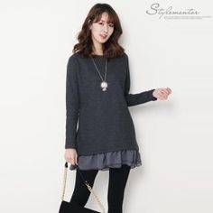 Buy 'Stylementor – Peplum Hem Sweater' with Free International Shipping at YesStyle.com. Browse and shop for thousands of Asian fashion items from South Korea and more!