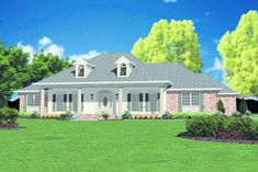Mountain House Plans, Ranch House Plans, Best House Plans, House Floor Plans, French Country House Plans, Modern Farmhouse Plans, Ranch Remodel, Build Your Dream Home