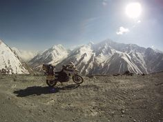 Hans fell into bed exhausted after a gruelling days ride, but next morning woke feeling on top of the world.