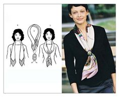 Tying Women's Scarves Guide - How to Wear a Scarf