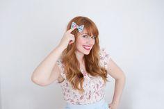 How cute is this easy DIY hair bow?!