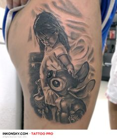 Tattoo by Yuste