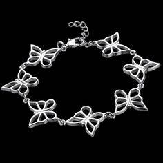 Новый 2016 горячая распродажа симпатичная бабочка браслет для женщин модный дизайн топ продажа браслеты AB005купить в…